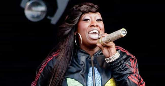 Missy Elliott is listed (or ranked) 4 on the list The Greatest Singer/rappers