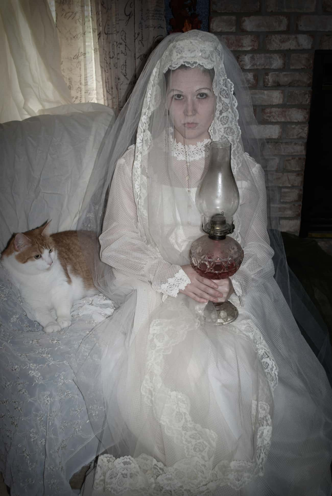 Miss Havisham is listed (or ranked) 3 on the list 34 Awesome Literary Costume Ideas for Halloween