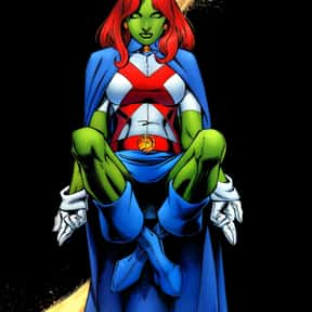 Miss Martian is listed (or ranked) 5 on the list The Best Superheroes With The Power Of Invisibility