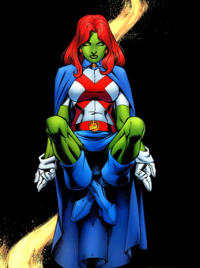 Miss Martian is listed (or ranked) 2 on the list The Best Shapeshifting Superheroes