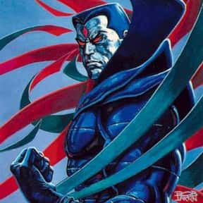 Mister Sinister is listed (or ranked) 12 on the list Comic Book Characters We Want to See on Film