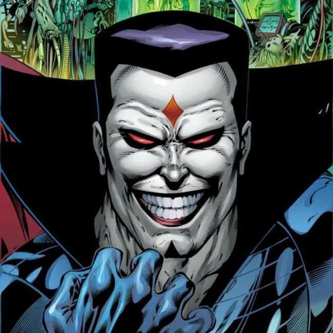 Mister Sinister is listed (or ranked) 2 on the list The Best Comic Book Characters Who Have Red Eyes