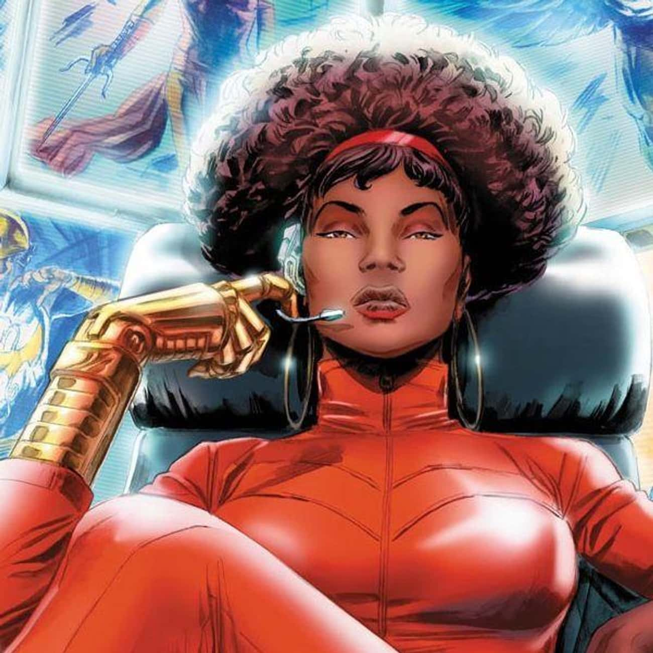 Misty Knight is listed (or ranked) 4 on the list Greatest Black Female Superheroes