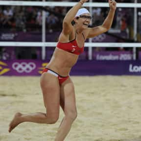 Misty May-Treanor is listed (or ranked) 7 on the list Famous Female Athletes from United States of America