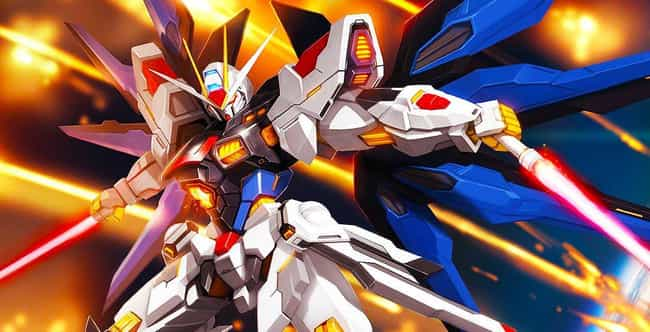 Mobile Suit Gundam Wing is listed (or ranked) 1 on the list The Best Mecha In Anime