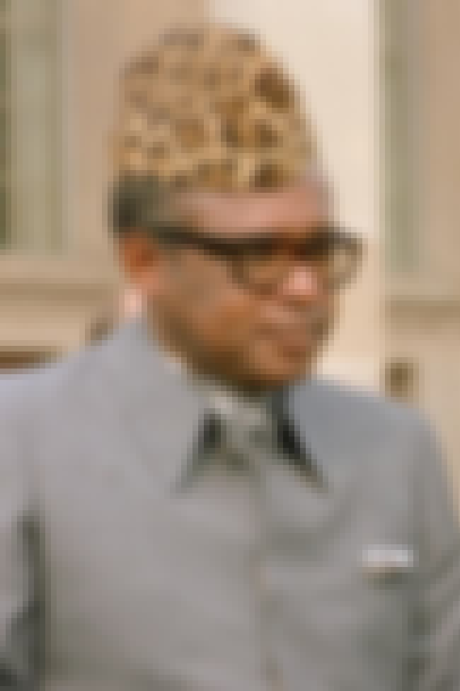 Mobutu Sese Seko is listed (or ranked) 3 on the list The Top 10 Corrupt World Leaders