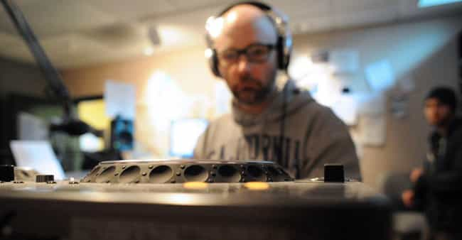 Moby is listed (or ranked) 4 on the list 16 Musicians Who Received Electric Shocks on Stage