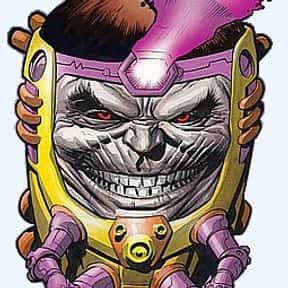M.O.D.O.K. is listed (or ranked) 10 on the list The Best Captain America Villains Ever