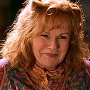 Molly Weasley is listed (or ranked) 16 on the list The Greatest Harry Potter Characters, Ranked