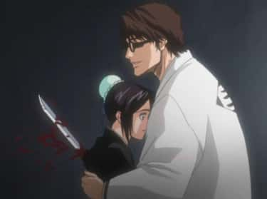 Sousuke Aizen Stabs Momo Hinam is listed (or ranked) 2 on the list 15 Anime Characters Who Were Betrayed By Someone They Love