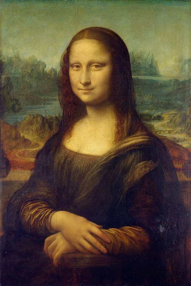 Mona Lisa is listed (or ranked) 4 on the list 13 Conspiracy Theories About Famous Paintings