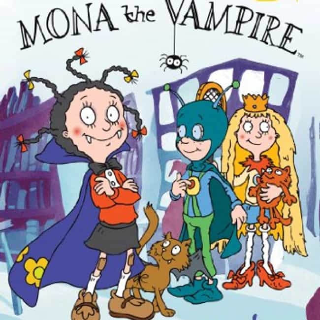 Mona the Vampire is listed (or ranked) 4 on the list TV Shows Produced By Micheline Charest