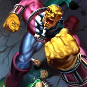 Mongul is listed (or ranked) 7 on the list The Best Superman Villains Ever