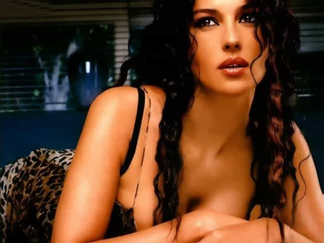 Monica Bellucci is listed (or ranked) 4 on the list The 100+ Hottest Women of the '90s