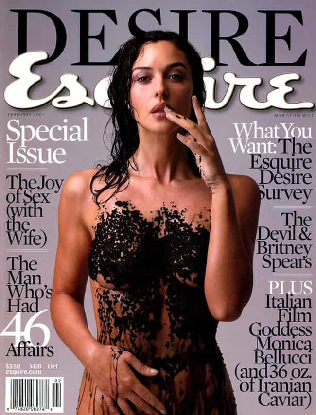 Monica Bellucci is listed (or ranked) 4 on the list The Best Esquire Covers