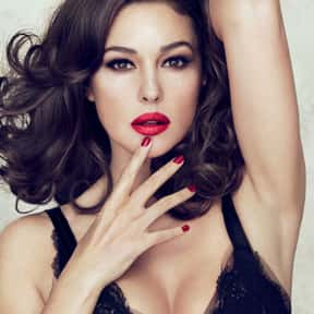 Monica Bellucci is listed (or ranked) 5 on the list The Hottest Women Over 40 in 2013