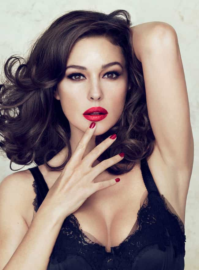Monica Bellucci is listed (or ranked) 4 on the list Beautiful Celebrity Women Aging the Most Gracefully