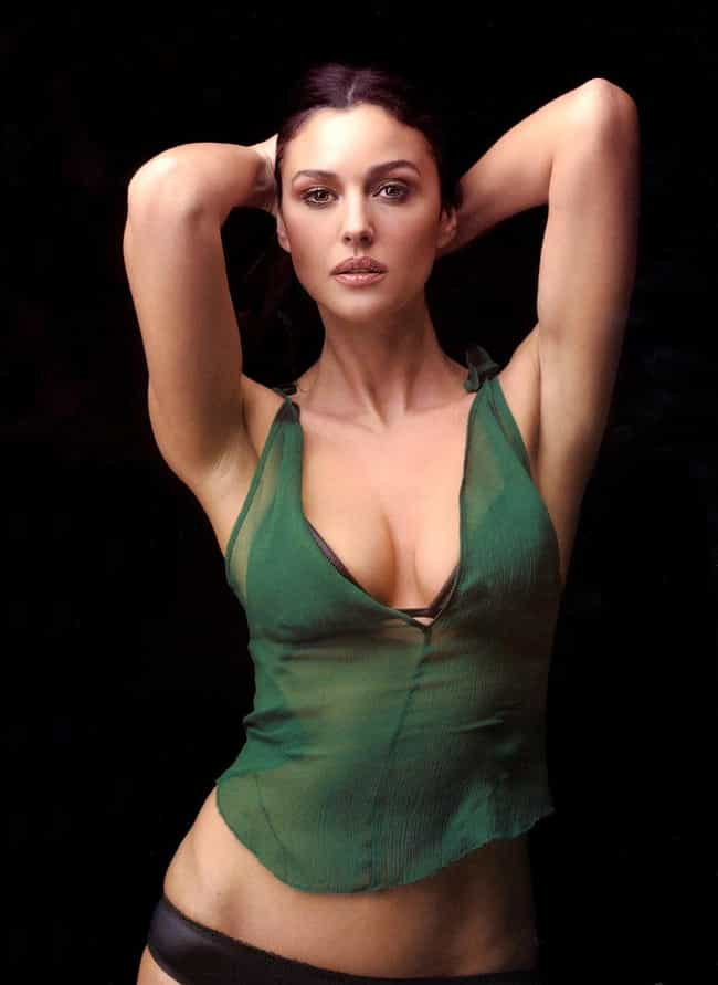 Monica Bellucci is listed (or ranked) 3 on the list The Hottest Brunette Women