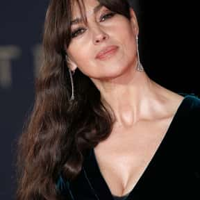 Monica Bellucci is listed (or ranked) 8 on the list Popular Film Actors from Italy