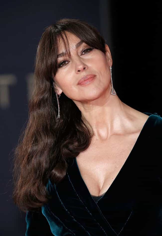 Monica Bellucci is listed (or ranked) 3 on the list Beautiful Celebrity Women Aging the Most Gracefully