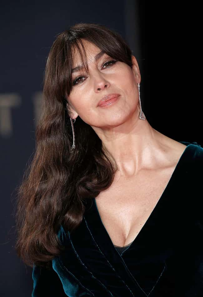 Monica Bellucci is listed (or ranked) 58 on the list The Most Captivating Celebrity Eyes (Women)