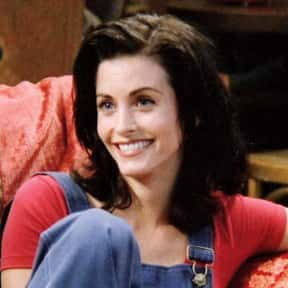 Monica Geller is listed (or ranked) 4 on the list Which Sitcom Character Would You Want to Quarantine With?