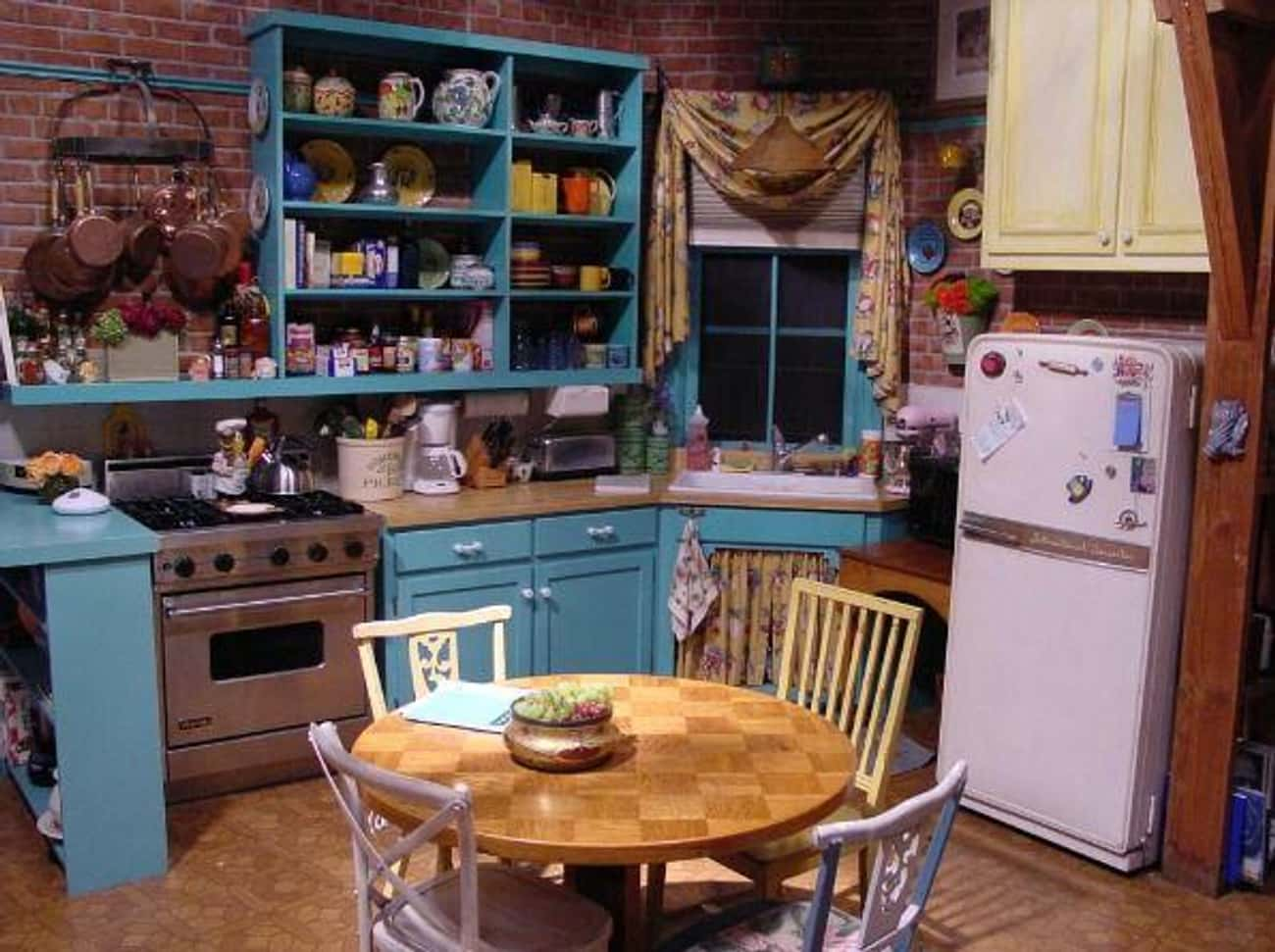 Monica Geller From 'Friend is listed (or ranked) 1 on the list TV And Movie Characters Who Can't Afford Their Homes