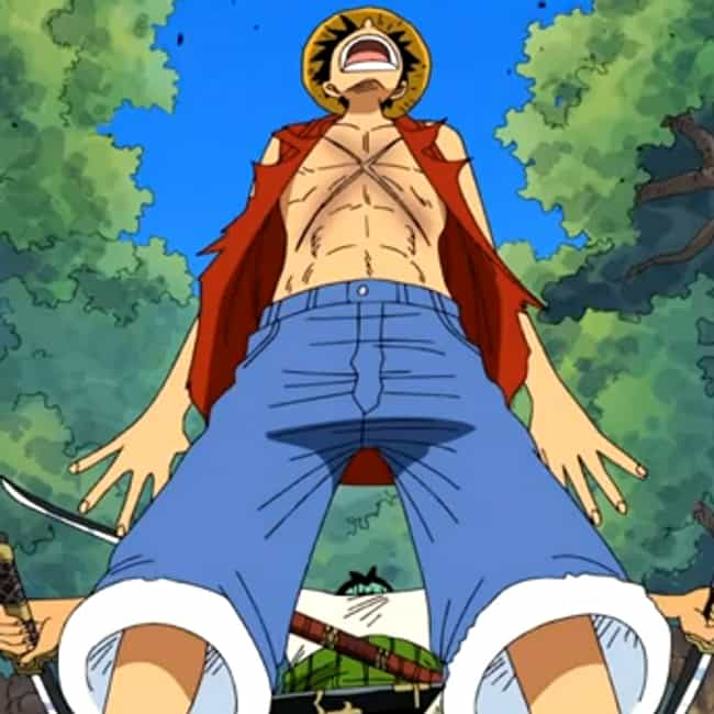 Monkey D. Luffy is listed (or ranked) 3 on the list The Greatest Anime Characters With Scars