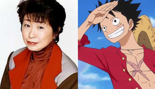 Monkey D. Luffy is listed (or ranked) 3 on the list 17 Anime Voice Actresses Who Are Nothing Like Their Male Roles