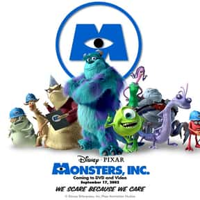 Monsters, Inc. is listed (or ranked) 2 on the list The Best Kids Movies, 2000-2009