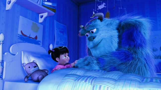 Monsters, Inc. is listed (or ranked) 2 on the list Pixar Movie Plot Holes You Can't Unsee