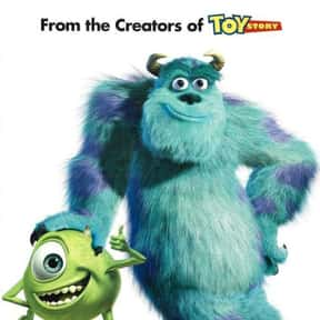 Monsters, Inc. is listed (or ranked) 17 on the list Animated Movies That Make You Cry the Most