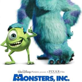 Monsters, Inc. is listed (or ranked) 6 on the list The Best Adventure Movies for Kids