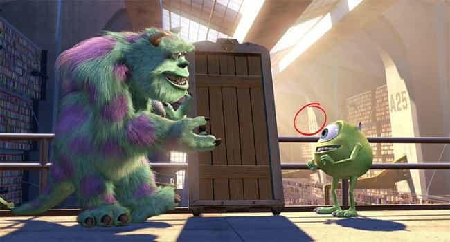 Monsters, Inc. is listed (or ranked) 4 on the list Every Time A113 Appears In Pixar Movies