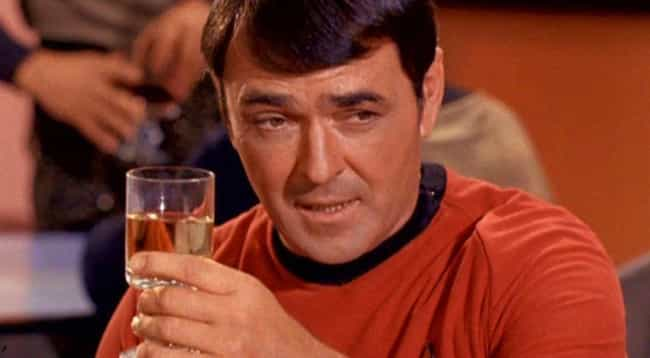 Montgomery Scott is listed (or ranked) 3 on the list The Luckiest Characters In The 'Star Trek' Franchise