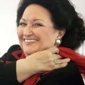 Montserrat Caballé is listed (or ranked) 6 on the list The Greatest Singers of the Past 30 Years