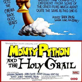 Monty Python and the Holy Grai is listed (or ranked) 21 on the list The Best Movies to Watch While Stoned