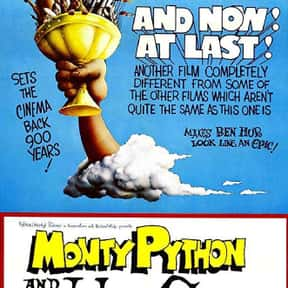Monty Python and the Holy Grai is listed (or ranked) 19 on the list The Best Comedies Rated PG