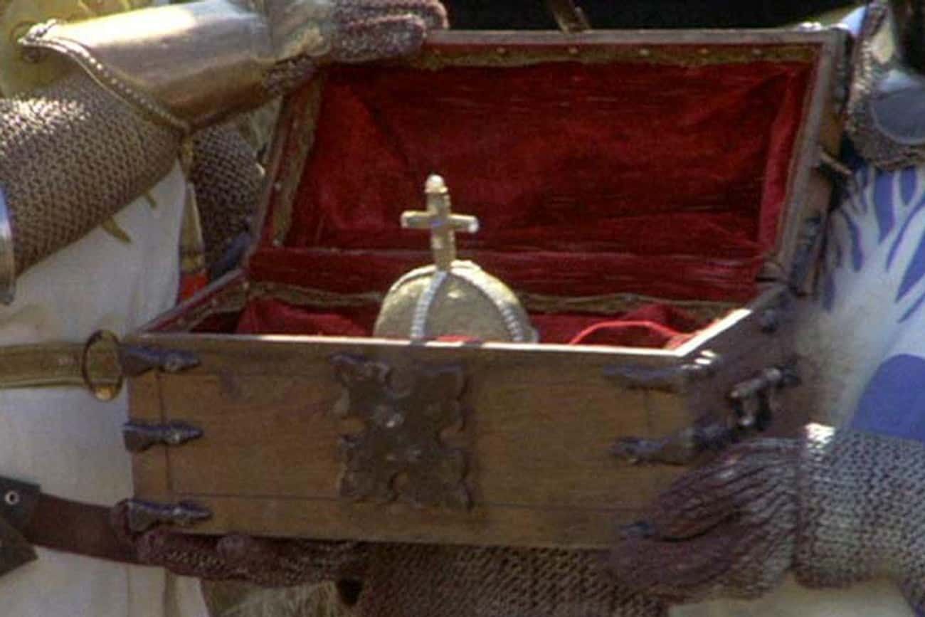 The Holy Hand Grenade Of Antio is listed (or ranked) 4 on the list The Coolest Signature Weapons In Movie History, Ranked