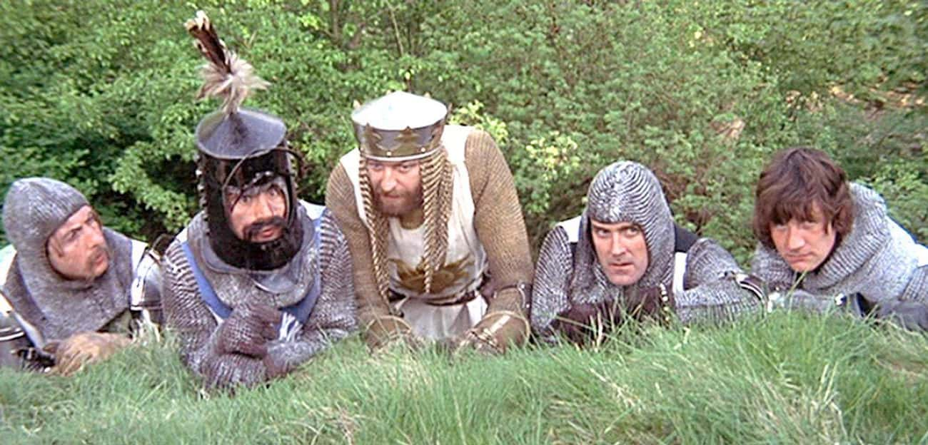 Monty Python Shows Just How Animals Were Used As Projectiles In 'Monty Python and the Holy Grail'