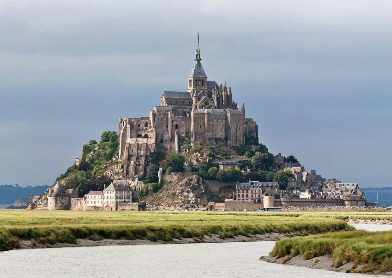 Mont Saint-Michel is listed (or ranked) 3 on the list The Most Beautiful Castles in the World