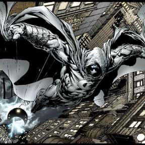 Moon Knight is listed (or ranked) 7 on the list Comic Book Characters We Want to See on Film