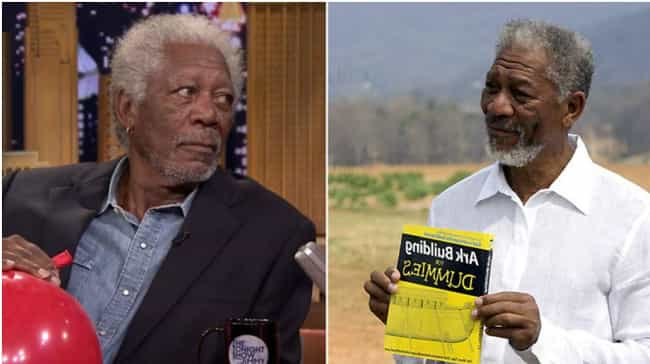 Morgan Freeman is listed (or ranked) 3 on the list Actors Known for Roles Most Similar to Who They Are in Real Life