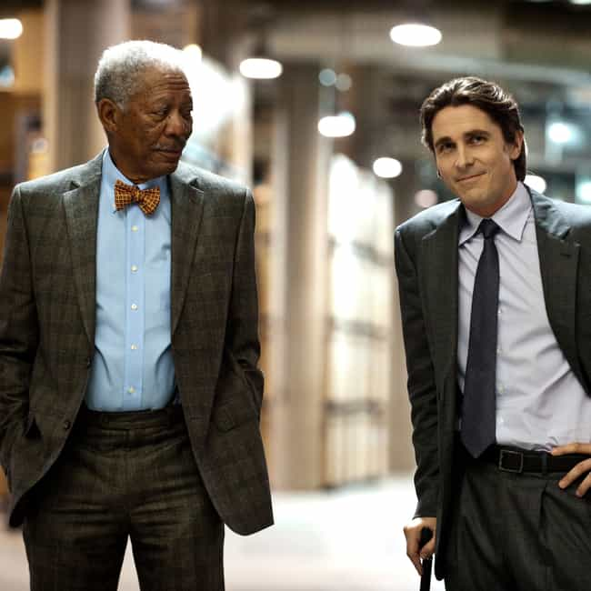 Morgan Freeman is listed (or ranked) 4 on the list Actors in the Most Christopher Nolan Movies