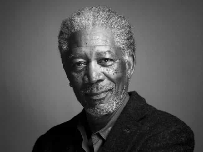 Morgan Freeman is listed (or ranked) 3 on the list Male Celebrities Who Are 6'2