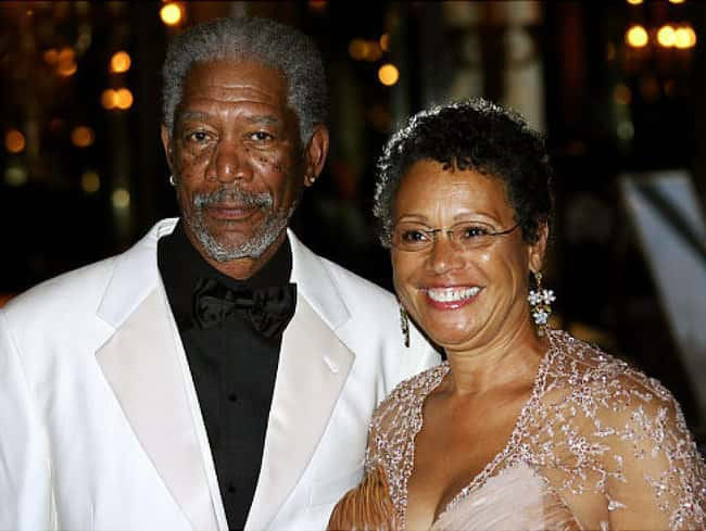 Morgan Freeman is listed (or ranked) 13 on the list 24 Famous Long-Term Couples That Split