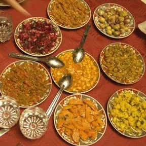 Moroccan food is listed (or ranked) 9 on the list Your Favorite Types of Cuisine