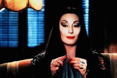Morticia Addams From 'The Adda is listed (or ranked) 1 on the list The Most Memorable Goth Characters From Movies