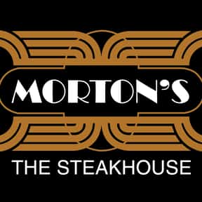 Morton's Steakhouse is listed (or ranked) 3 on the list The Best High-End Restaurant Chains