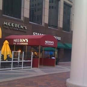 Morton's the Steakhouse is listed (or ranked) 3 on the list The Best Steakhouses in Los Angeles